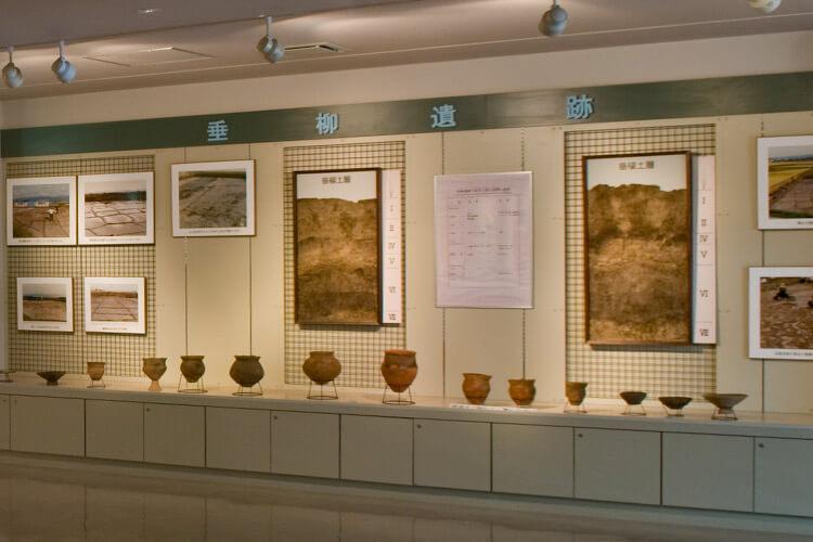 垂柳遺跡から出土した土器